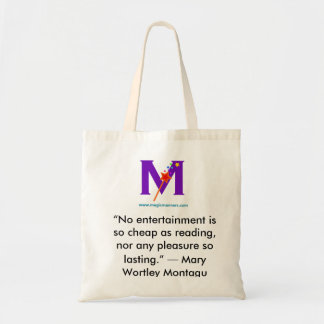 Magic Manners Library Bag