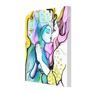Magic Mirror Wrapped canvas Canvas Prints