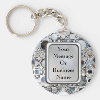 Magic Mirrors Basic Round Button Key Ring