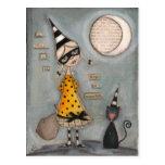 Magic Moon - Holiday Postcard