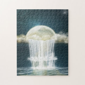 Magic Moon Waterfall Puzzle