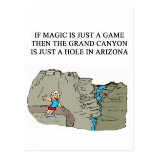 MAGIC mtg game player Post Card