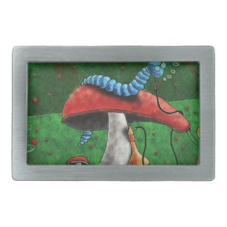 Magic Mushroom Belt Buckle