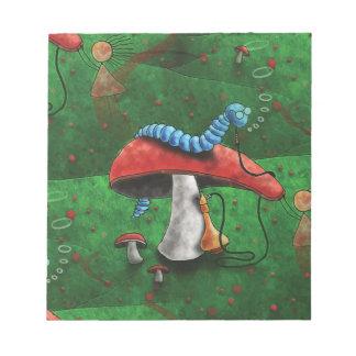 Magic Mushroom Notepad