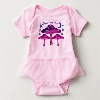 Magic Mushrooms Baby Bodysuit