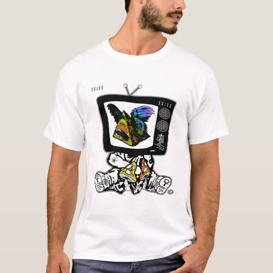 MAGIC MUSHROOMS - DMT SPIRITUAL GRAFFITI T-SHIRT