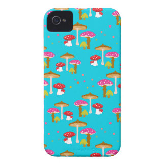 """""""Magic Mushrooms II"""" iPhone 4 Barely There Case iPhone 4 Cases"""