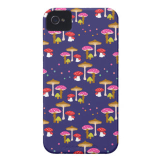 """""""Magic Mushrooms"""" iPhone 4 Barely There Case iPhone 4 Cover"""