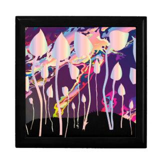 Magic Mushrooms Jazz Background Gift Box
