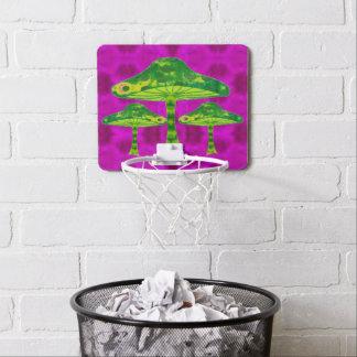 Magic Mushrooms Mini Basketball Hoop