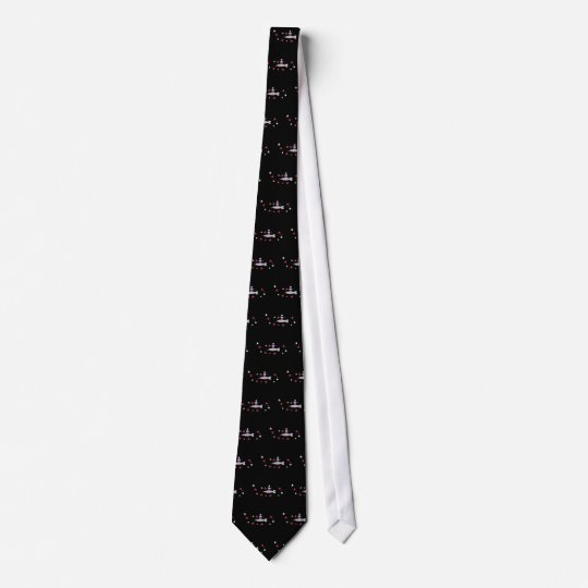 Magic Narwal and Space Cupcake Tie