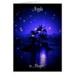 Magic Night Card
