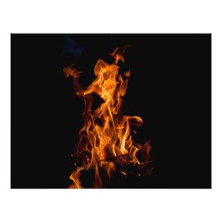 Magic of fire 21.5 cm x 28 cm flyer