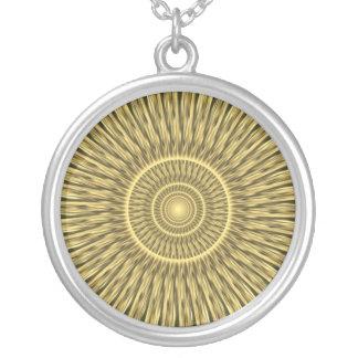 Magic of Light Round Pendant Necklace