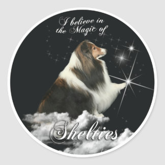 Magic of Shelties Stickers
