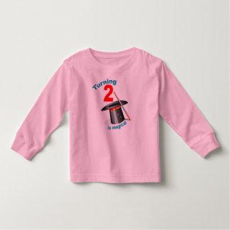 Magic Party 2nd Birthday T Shirts