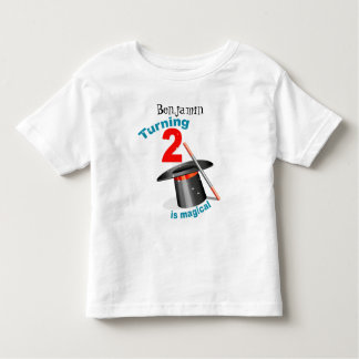 Magic Party 2nd Birthday Toddler T-Shirt