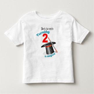 Magic Party 2nd Birthday T-shirts