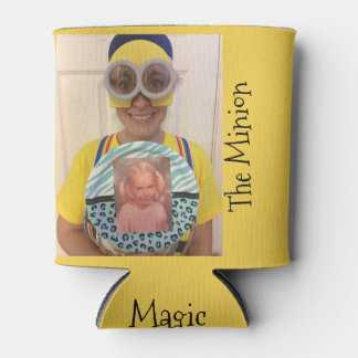 Magic People Upload Your Picture Custom Can Cooler