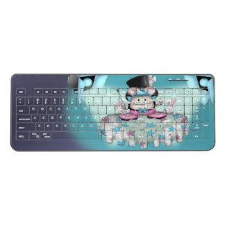 MAGIC PET CARTOON Custom WirelessKeyboard Wireless Keyboard