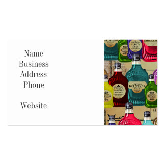 Magic Potion Apothecary Halloween Tonic Bottles Pack Of Standard Business Cards
