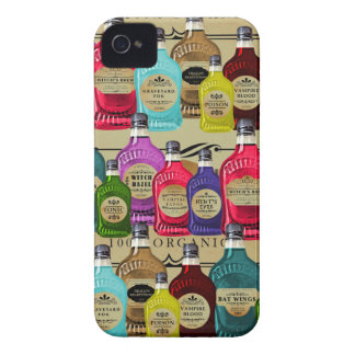 Magic Potion Apothecary Halloween Tonic Bottles Case-Mate iPhone 4 Case