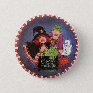 Magic Potions Button Pin