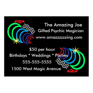 Magic Power Business Cards