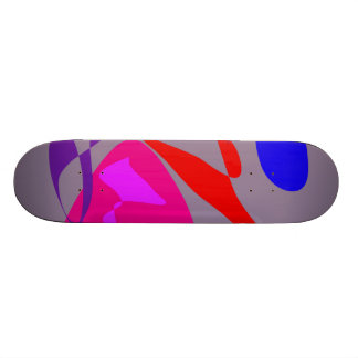 Magic Rose Gray Skate Board Decks