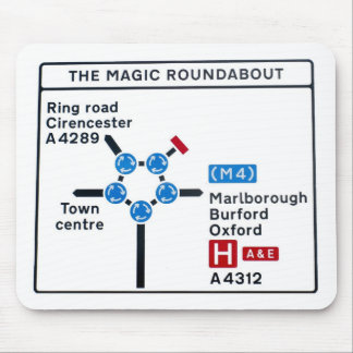 Magic Roundabout Mousepad