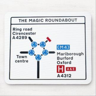 Magic Roundabout Mousepad