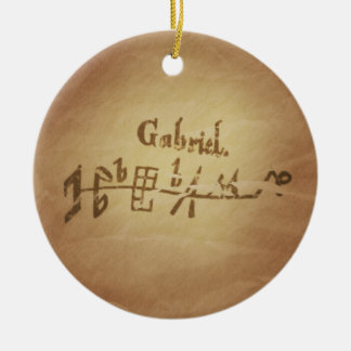 Magic Seal Angel Gabriel Protection Magic Charms Christmas Ornament