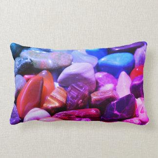 Magic Semi Precious Stones Crystals Cushion Pillow
