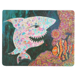 Magic shark note book