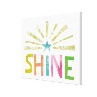 Magic Shine Canvas Print