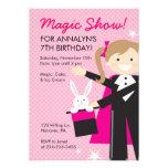 Magic Show Birthday Party Invitations