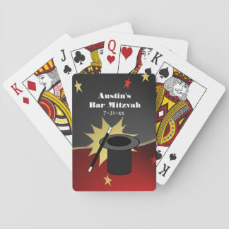 Magic Show Party Favor Playing Cards