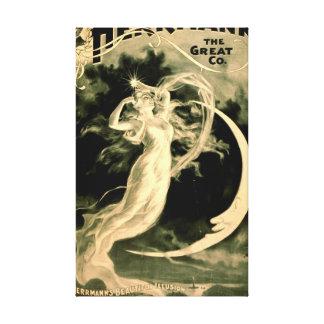 Magic Show Playbill 1898 Canvas Prints