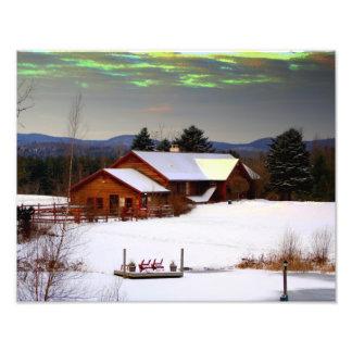 Magic Sky Over the Inn Photo Print