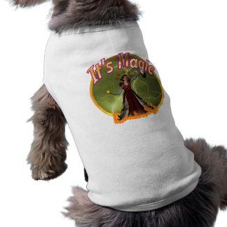 magic sleeveless dog shirt