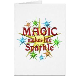 Magic Sparkles Greeting Cards