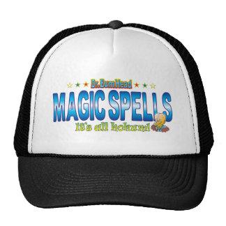 Magic Spells Dr. B Head Cap