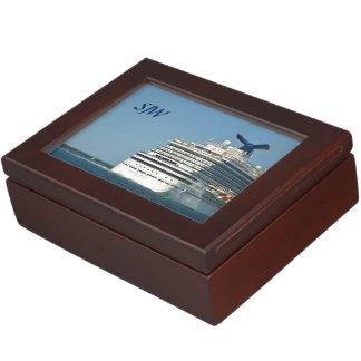 Magic Stern Monogrammed Keepsake Box
