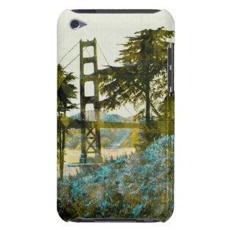magic sunset bridge iPod touch cases