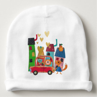 Magic Town Fairly Tail Golden Hearts Baby Beanie