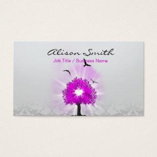 Magic tree of love business card