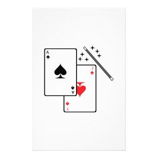 Magic Trick Stationery Paper