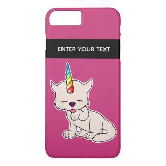 Magic Unicorn Cat = Kittycorn iPhone 8 Plus/7 Plus Case