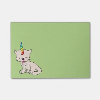 Magic Unicorn Cat = Kittycorn Post-it Notes