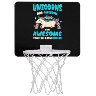Magic Unicorn Mini Basketball Hoop